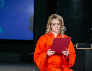 "Carolina Crescentini racconta Krizia nel docu-film ""Illuminate"" su Rai 3"