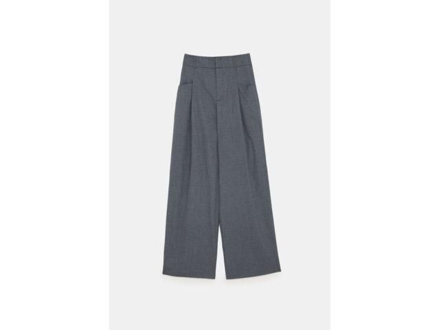 Pantaloni palazzo in grigio