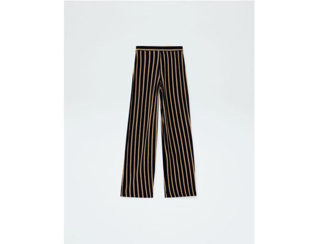 Pantaloni basic a palazzo