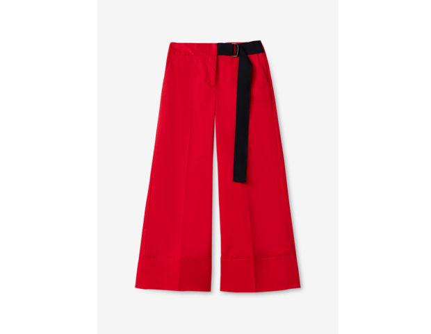 Pantalone A Palazzo stripe Color