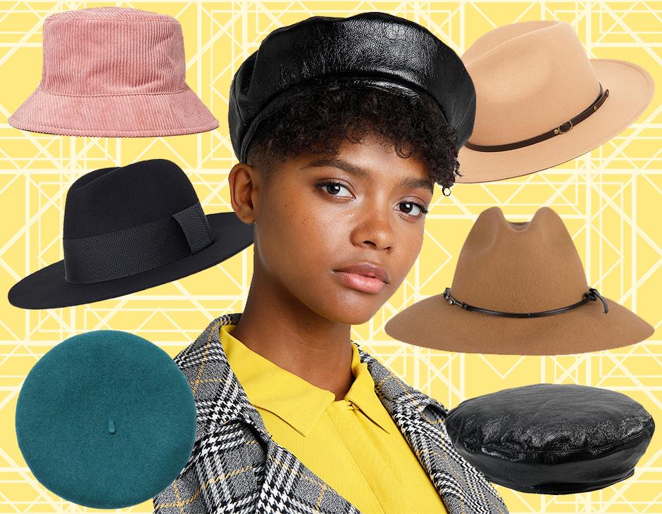 La parola d ordine per un autunno pieno di glamour è cappello. Dal beret  parigino al modello Borsalino in feltro a77616d3fc61