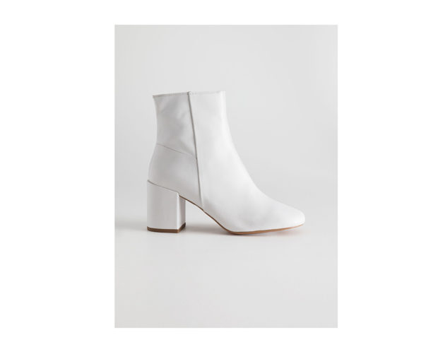 Ankle boots con tacco grosso