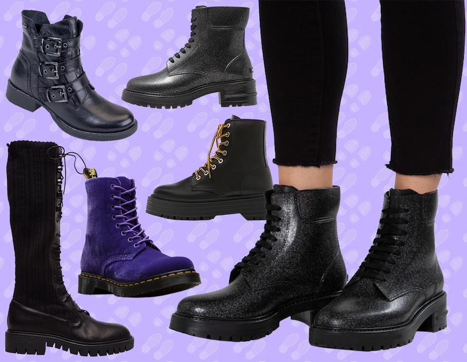 separation shoes b4ae6 ca2b5 Anfibi: gli stivali in pelle rock da sfoggiare su tutto in ...