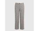 Pantaloni in lana Principe di Galles