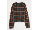 Pullover check print
