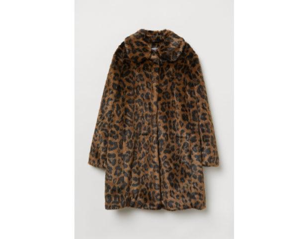 Cappotto in finta pelliccia