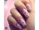 Manicure rosa e bocchette