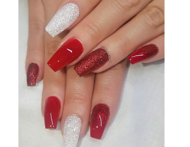 Perfetta nail art natalizia