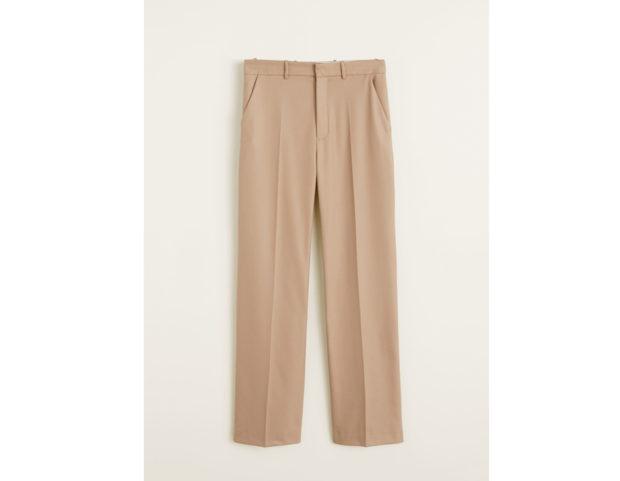 Pantaloni diritti vita alta