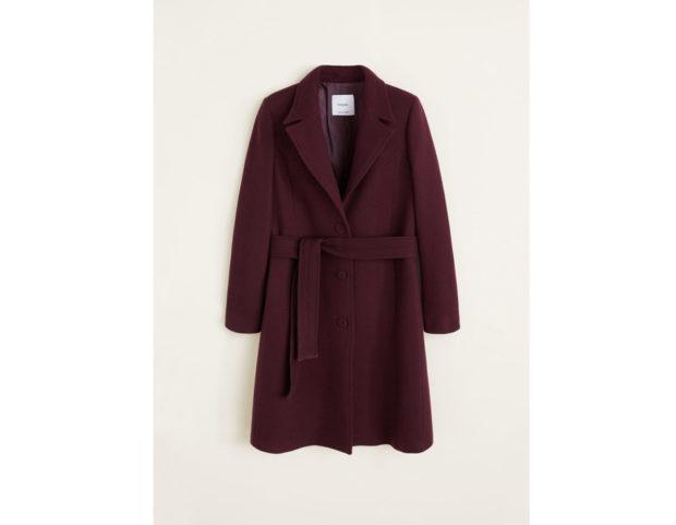 Cappotto lana strutturato