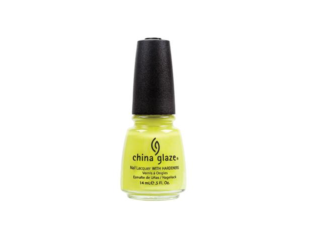 Il giallo neon di China Glaze è per chi non ha paura di osare.