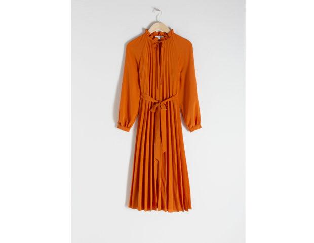 Midi Dress a pieghe