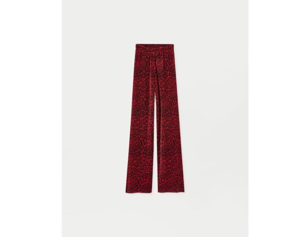 Pantaloni palazzo plissettati