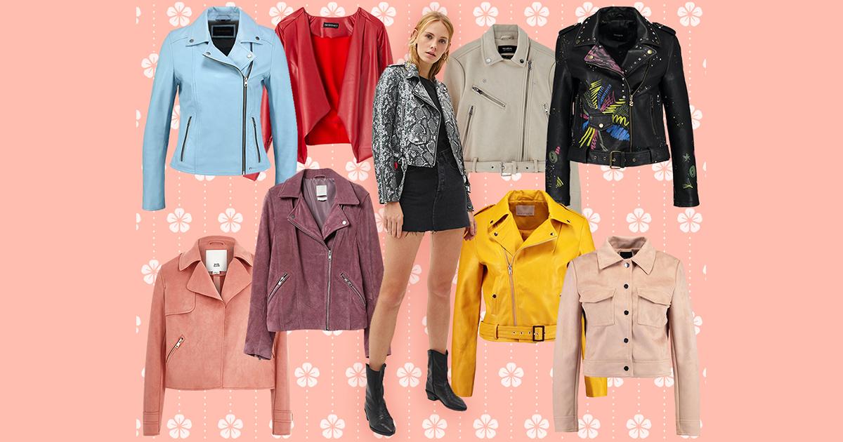 huge selection of 2540d 0a029 Giacche di pelle: i modelli più cool della primavera estate 2019