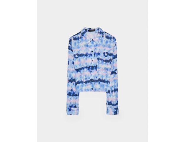 Camicia sfiancata con taschino