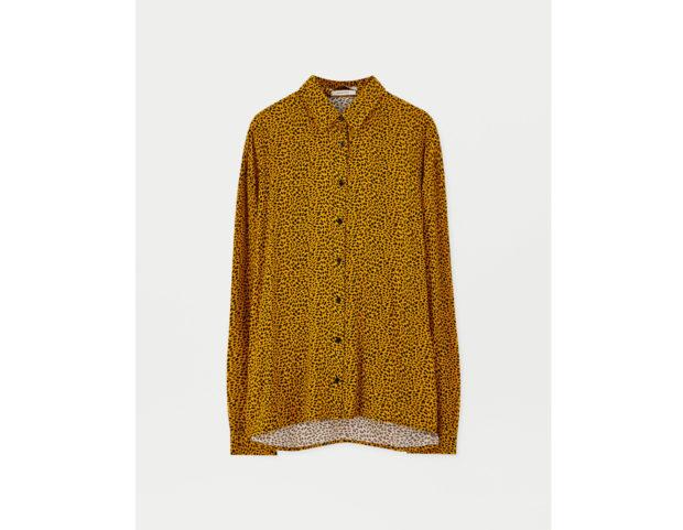Camicia leopardata colorata