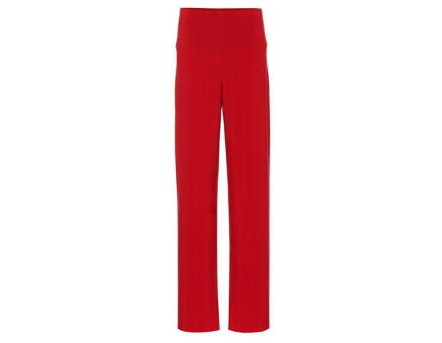 Pantaloni a palazzo in jersey stretch