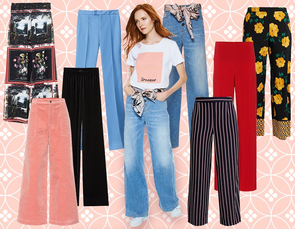 4a4025b0403f37 Eleganti e versatili, perfetti per ogni occasione e in qualsiasi  guardaroba, i pantaloni a palazzo non possono mancare all'appello in  primavera.