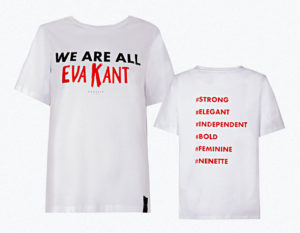t-shirt we are all eva kant