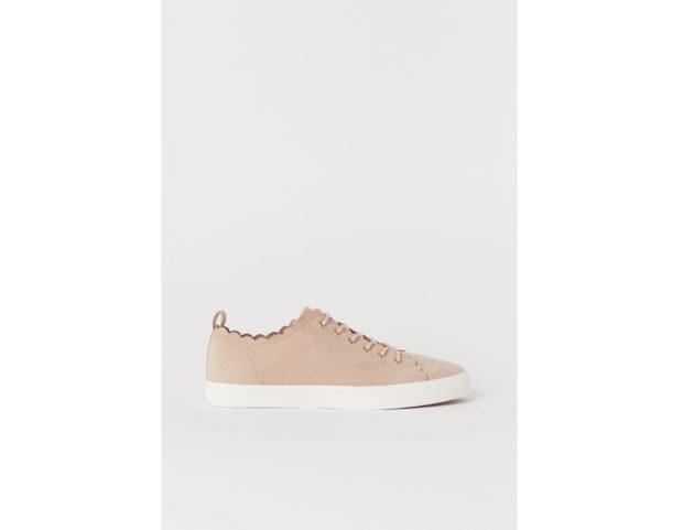 Sneakers rosa cipria