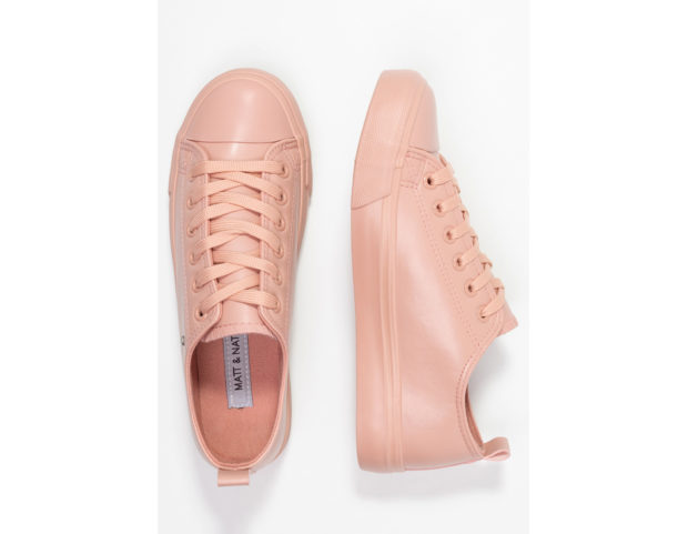 Sneakers basse effetto lucido
