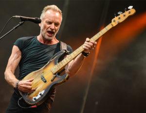 Sting: l'englishman che andrà a Las Vegas. Con l'Italia nel cuore