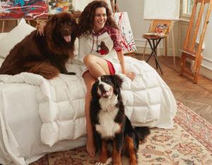 La collezione pigiami di Twinset U&B by Paola Turani: per chi ama pois, check e cani!