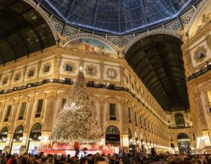 Swarovski accende il Natale a Milano con il Digital Christmas Tree