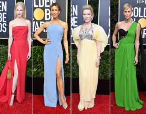Golden Globe 2020: i look delle celeb sul red carpet