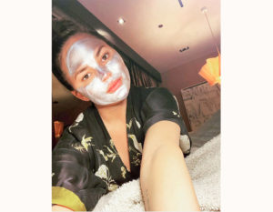 La beauty routine delle celeb in quarantena