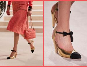 La scarpa bicolore di Chanel