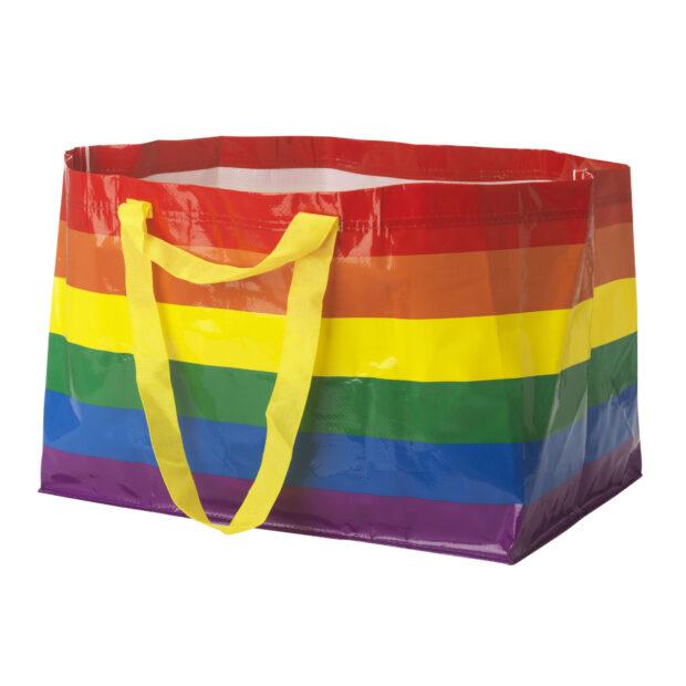 Carrier bag arcobaleno Ikea