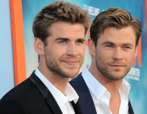 Liam e Chris Hemsworth