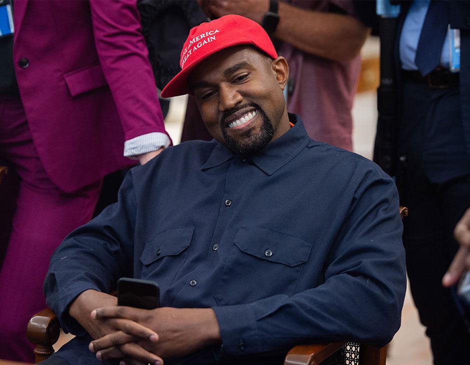Kanye West si candida alla presidenza Usa