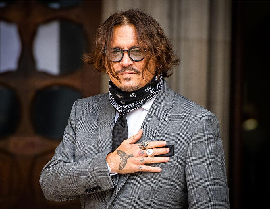 Johnny Depp a Londra