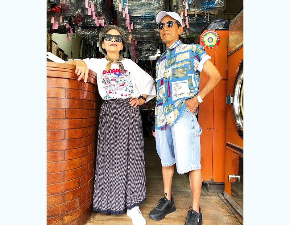 Nuovi influencer lavanderia Taiwan Hsu Show-Er Chang Wang Ji