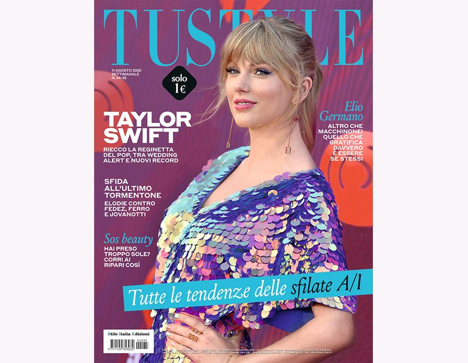 Taylor Swift in copertina