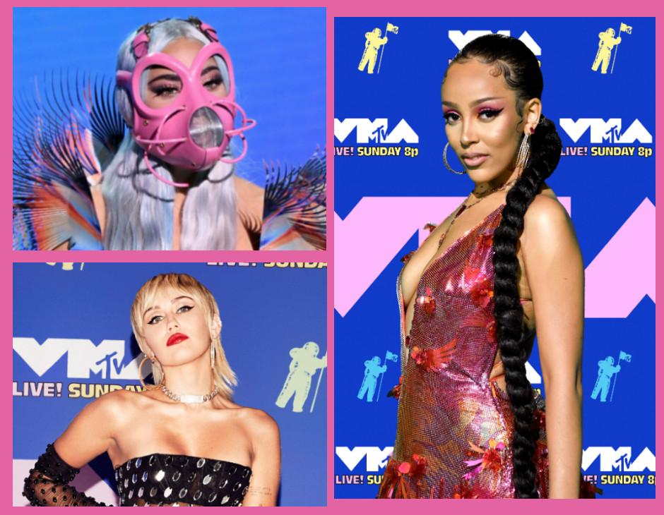 VMA 2020 beauty look