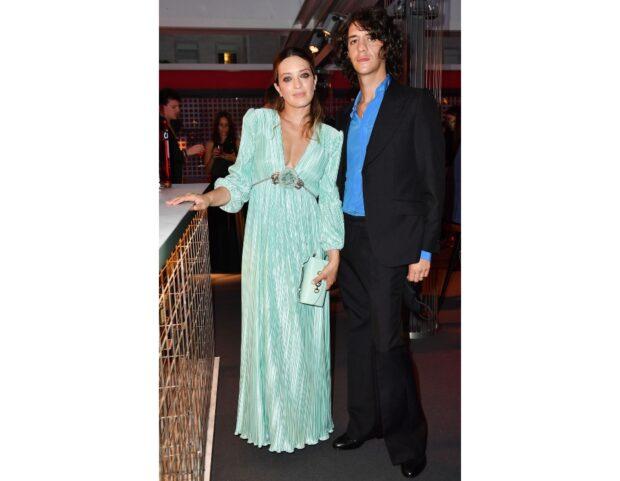 Carolina Crescentini e Francesco Motta in Gucci