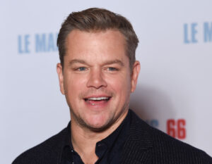 Auguri Matt Damon