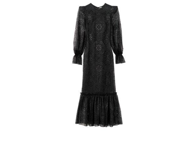 abito nero lungo the vampire s wife x hm