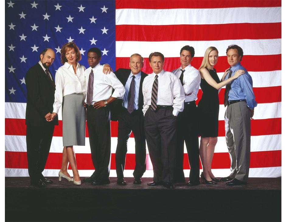 Il cast della serie HBO West Wing