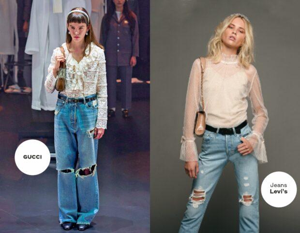 Jeans inverno 2020 Gucci