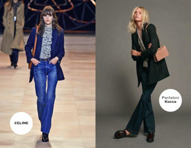Jeans inverno 2020 Celine