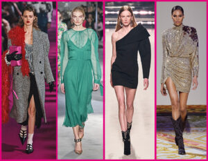 8 dress code chic & rock per le feste