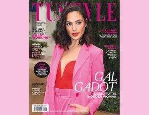 Gal Gadot in copertina
