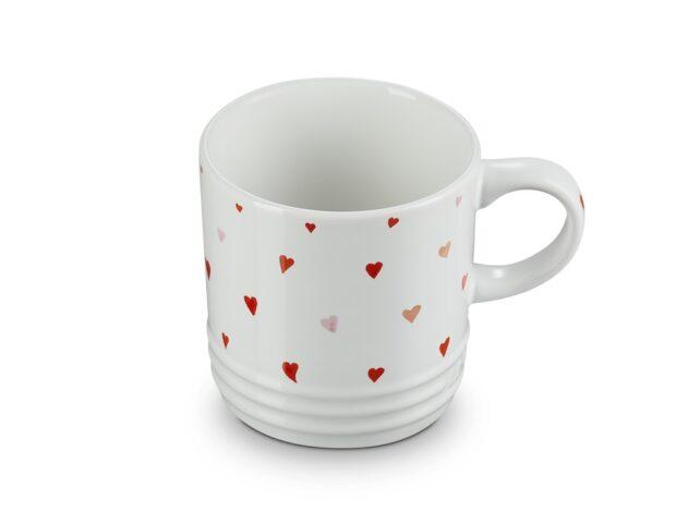 LC_Tazza mug Amour in gres 350 ml con cuori disegnati a mano 18,00 €