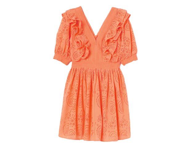 abito arancione HM