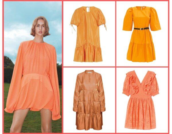 arancione colore di tendenza