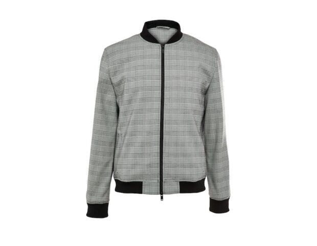 Primark_SS21_uomo_KIMBALL-1473301-01-Premium Modern Grey Check Bomber Jacket, £30, €35, �45, PLN 155